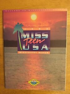 1994 Miss Teen USA universe beauty souvenir program