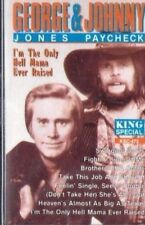 GEORGE JONES  JOHNNY PAYCHECK I'm the Only Hell Mama Ever Raised TAPE NEW SEALED