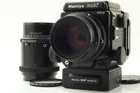 【NEAR MINT】 Mamiya RZ67 Pro II + Sekor Z 110mm F2.8 , 180mm  F4.5 + Winder JAPAN