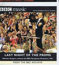 SARGENT / BBC SYMP ORCH Last Night of the Proms CD BBC MM72 1998