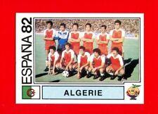 WC ESPANA '82 Panini 1982 - Figurina-Sticker n. 101 - ALGERIE TEAM -New