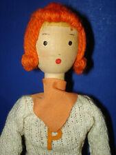 "The Pinn Family 12"" Clo Wooden Collegiate Doll Emily T. Myers 1936 Schoenhut"