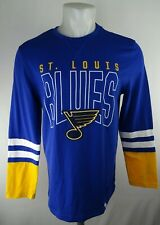 Saint Louis Blues NHL Majestic Men's Long Sleeve Shirt