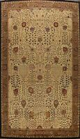 Traditional Agra Oriental Area Rug Wool Hand-Knotted Palace Size Carpet 12x19