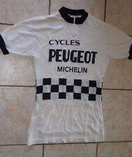 Maillot de cyclisme vintage Peugeot d73a6a18e