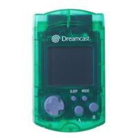 Sega Dreamcast Green Visual Memory Unit VMU Brand New 2Z