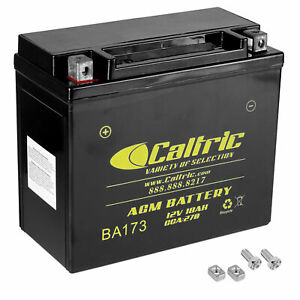 AGM Battery for Harley Davidson Flst Heritage Softail Classic 1986 1991 1992
