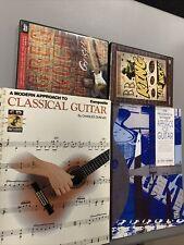 LOT OF 2 Guitar Books 2 Guitar DVDs Arpeggios Classical BB King Greg Koch