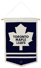 Toronto Maple Leafs NHL Embroidered Wool Traditions 12x18 Mini Banner Flag