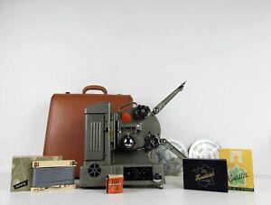 Ancien Projecteur Heurtier Super S58 + Malette et Accessoires