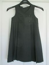 M&S Grey School Pinafore Dress (Age 7 Years)