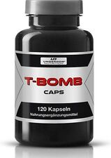 T-Bomb anabol Pre Workout Booster Muskelaufbau Fatburner + Testosteron Booser