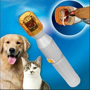 Professional Pet Dog Cat Nail Trimmer Grooming Tool Grinder Electric Clipper