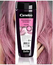 PINK ROSE HAIR TONER RINSE Grey White Platinum Blond Bleached Dye Colour 200ml