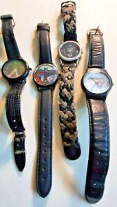 Watch group of 4 Art, design, logo watches
