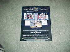 1997 Upper Deck Diamond Vision Hockey Card Ad Sheet Wayne Gretzky Patrick Roy