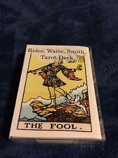 "Rider Waite Smith Tarot Cards Deck 78 Cards poker size deck, 2.5"" x 3.5"""