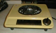 NOS Broil-King BR5 Single Buffet Range Burner Canary Yellow Electric Hudson Corp