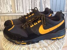 Nike acg Black Leather And Textile Lace Up Trainers. Mens Size 11. MR7578