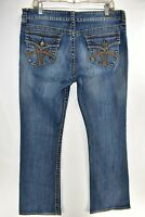 Kut From The Kloth Natalie High Rise Bootcut Flap Womens Jeans Sz 14 Meas 35x33