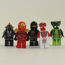 LEGO Minifigures Ninjago LOT OF 5 (Cole DX, Spitta, Fang-Suei, Kai ZX, & Bytar)