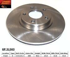 Disc Brake Rotor fits 2005-2009 Mazda 5 3  BEST BRAKES USA