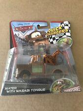 Mattel Disney Pixar Cars Quick Changers MATER With Wasabi Tongue Transforms