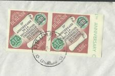 Burundi 1963 UNESCO 3.50Fr imperf pair on cover to USA