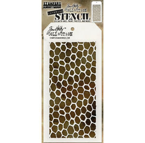 Tim Holtz Layering Stencil Hive Stencil ths105 Stampers Anonymous