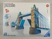 Ravensburger 3D Tower Bridge of London Puzzle - 216 Plastic Pieces SEALED 12+