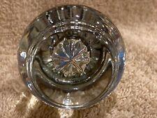 Very Nice Antique Round Clear Glass Doorknob Door Knob 2�