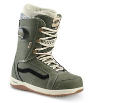 2020 NIB WOMENS VANS FERRA PRO SNOWBOARD BOOTS $260 8 Lichen Green/Macadamia