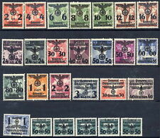 GEN. GOVERNMENT 1940 Overprint definitive set MNH / **