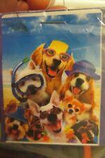 Summer Beach Dogs, Snorkel Westie, Yorkie, Golden Retriever Dachshund House Flag