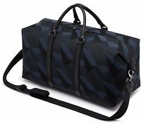 a4f280eb1832 ... promo code for mulberry navy blue black dazzle camo canvas holdall  weekend travel bag bnwt b0f9a
