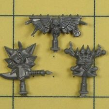 Warhammer 40K Space Marines Space Wolves Wolf Pack Icons
