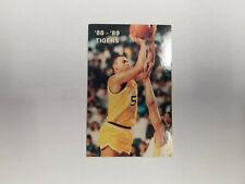 Towson State University 1988/89 Men's Basketball College Pocket Schedule (RK)