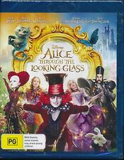 Alice Through The Looking Glass Bluray Blu-ray NEW Johnny Depp