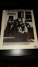 Cat Mother And The All Night Newsboys Rare Original Promo Poster Ad Framed!