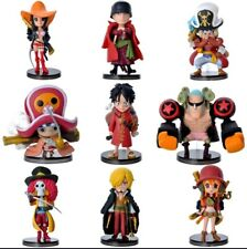9pcs lot One Piece Anime Action mini figure collection Toys Gifts New