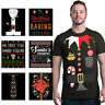 ALL Christmas Men`s T-Shirt Holiday Santa Elf Costume Xmas Funny Ugly Tees