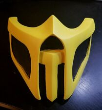 NEW Handmade Mortal Kombat cosplay mask Scorpion Theme US SELLER (NO Scratches)