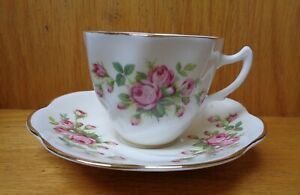 VINTAGE MADE IN ENGLAND BONE CHINA TEA CUP & SAUCER #2