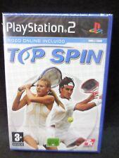 Top Spin nuevo y precintado para playstation 2