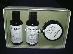 Goodfellow & Co. On The Go Gift Set Shampoo Body Wash Finishing Pomade 4 fl oz
