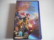 K7 VHS CASSETTE VIDEO - LA PLANETE AU TRESOR / UN NOUVEL UNIVERS