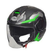 Casco Helmet Demi Jet Premier Cool Camo Green Fluo BM S
