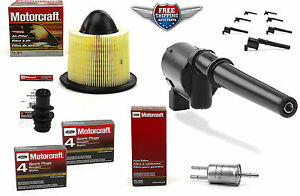 Tune Up Set 8 Ignition Coil DG512 DG543 UF191 Spark Plug PCV Air & Fuel Filter