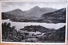 Irish Postcard GLENGARRIFF & Caha Mtns West Cork Ireland Halftone White Border