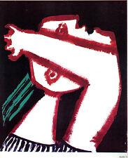 PICASSO LITHOGRAPH 1964 w/COA. Pablo Picasso PEACE PROTEST, ANTI WAR ! Rare Art